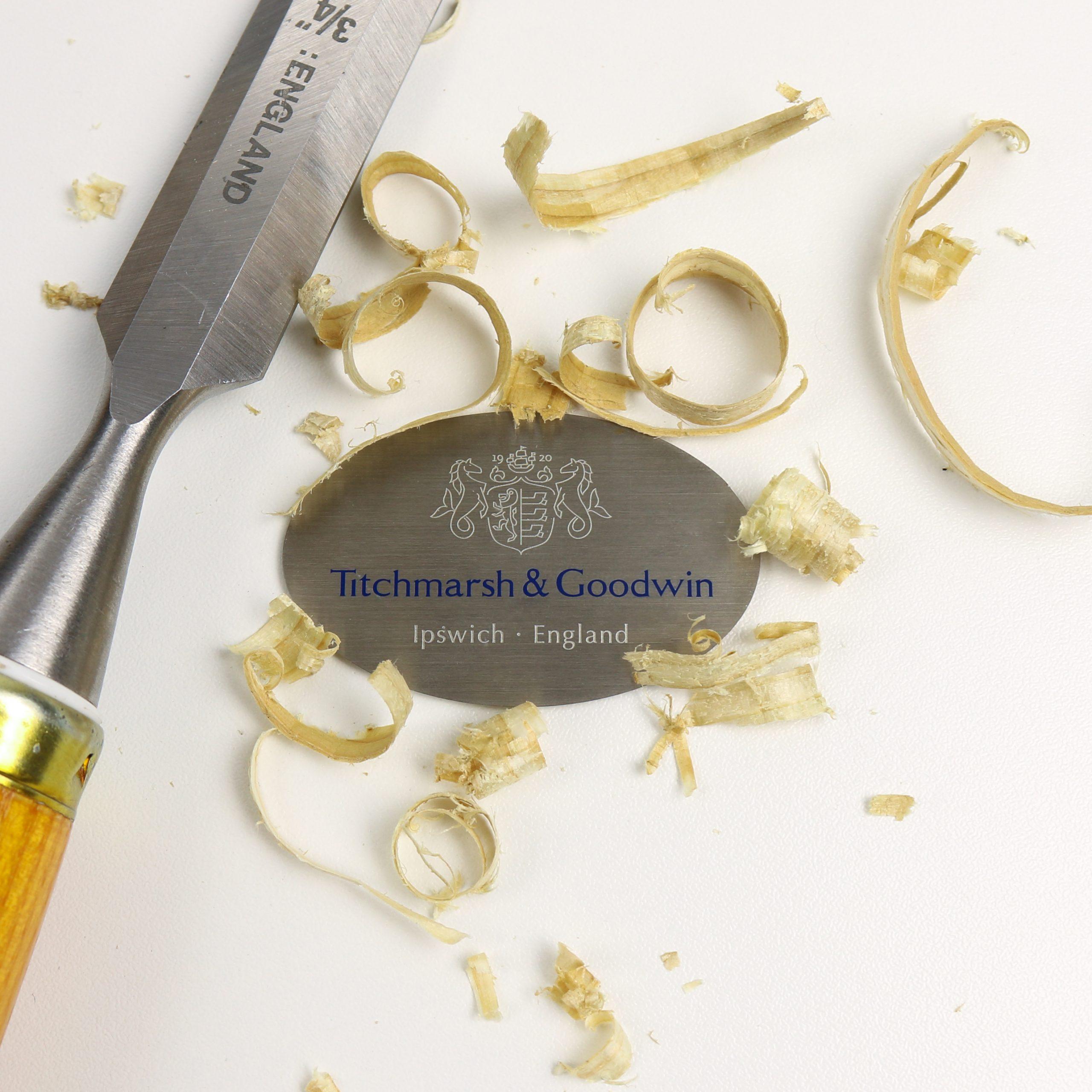 Titchmarsh and Goodwin Bespoke Metal Badge