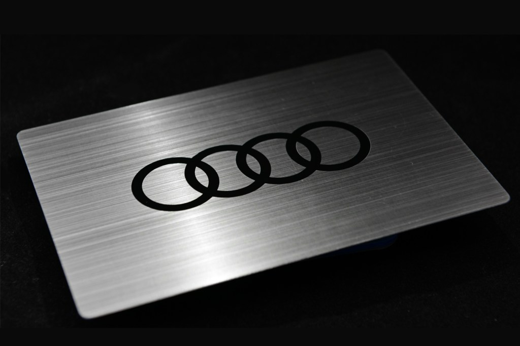 Brushed Stainless Steel - Audi