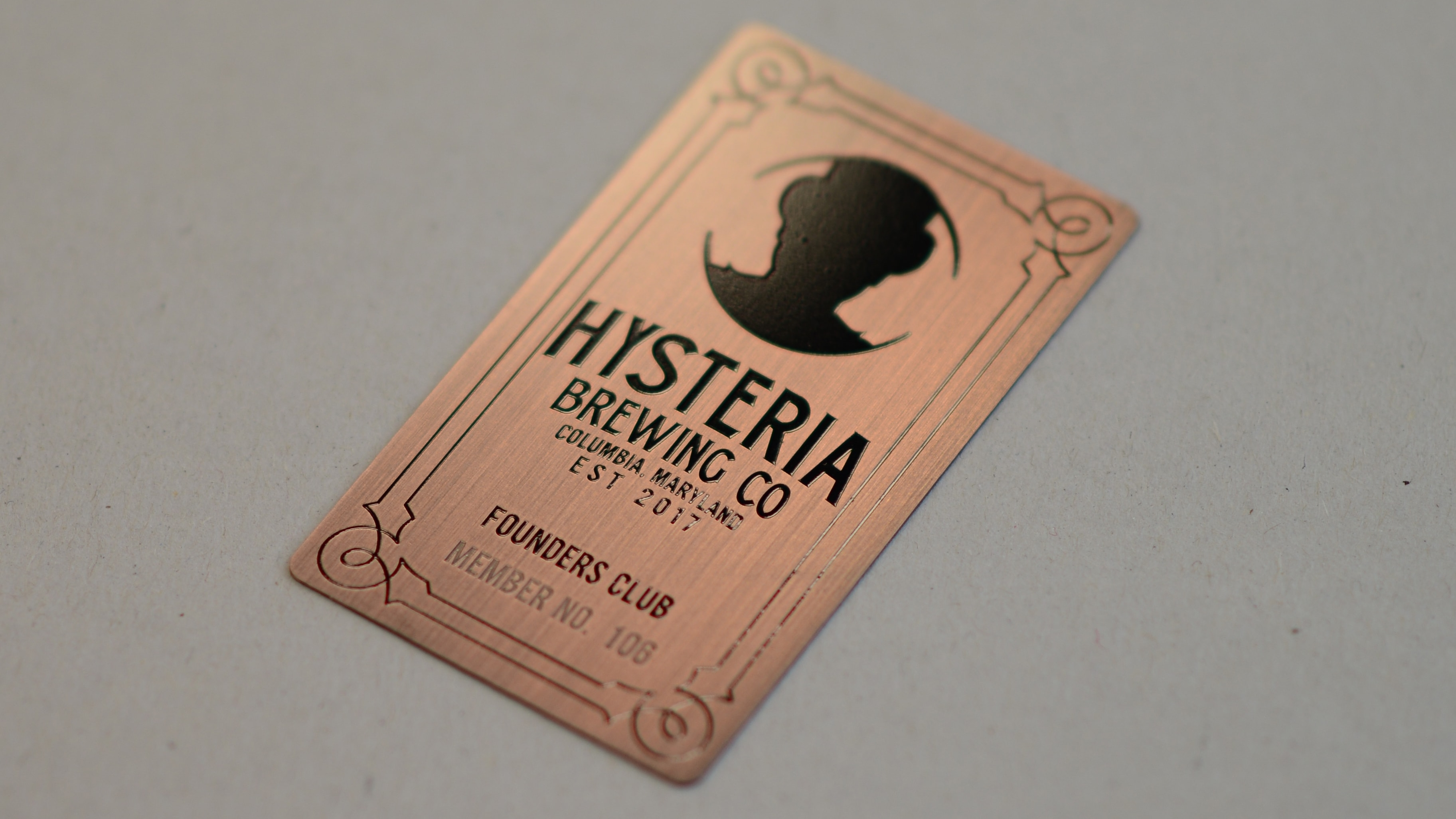 Brushed Antique Copper - Hysteria