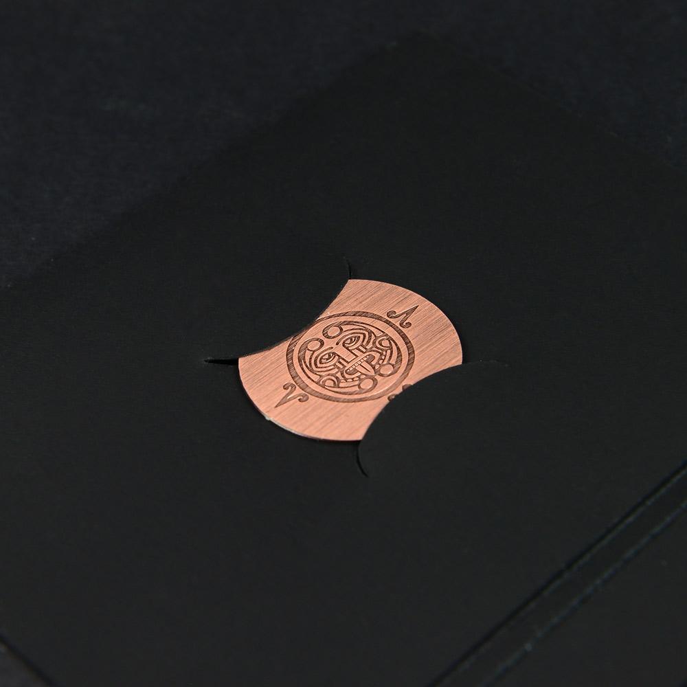 Metal membership card wallet