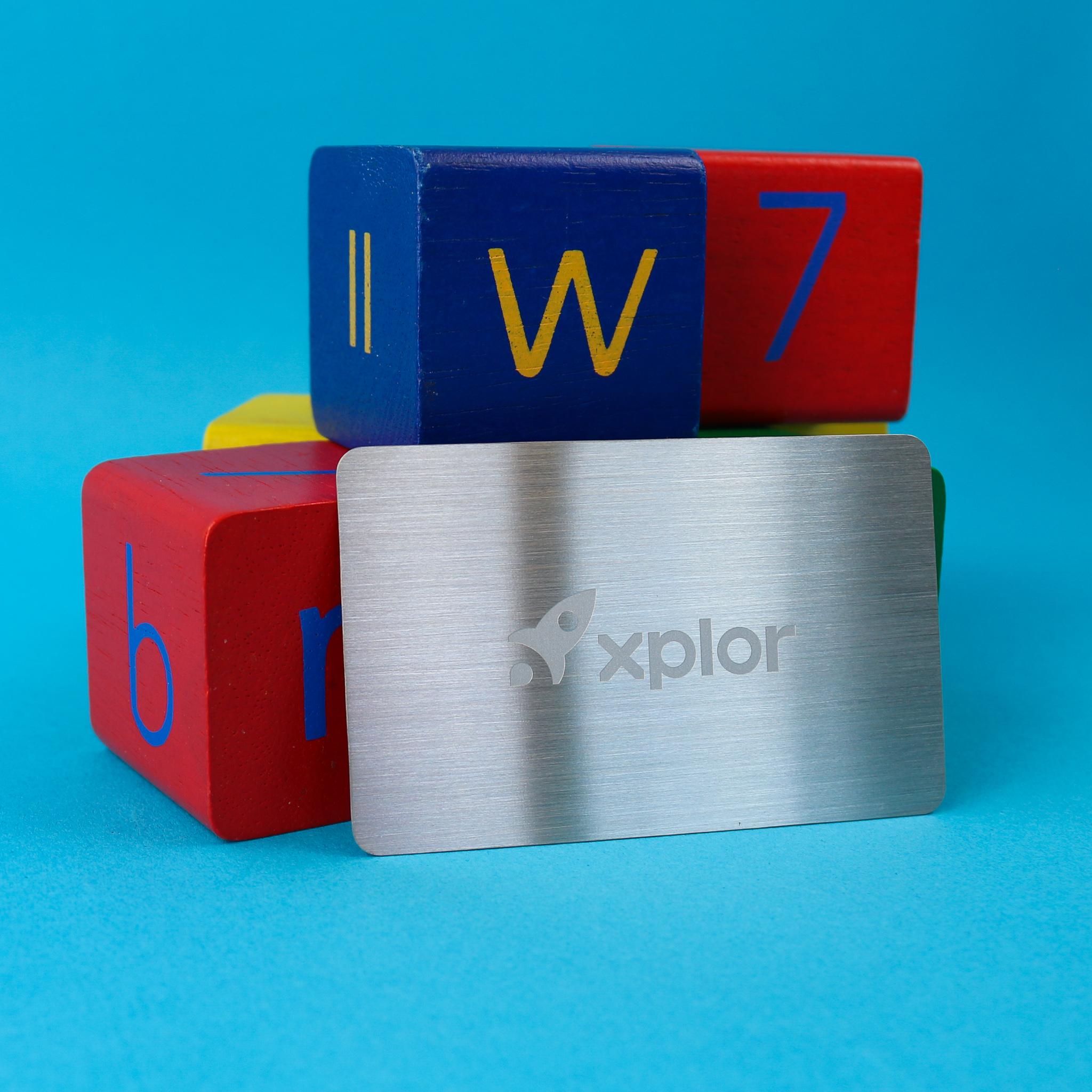 Xplor - Metal Membership Cards