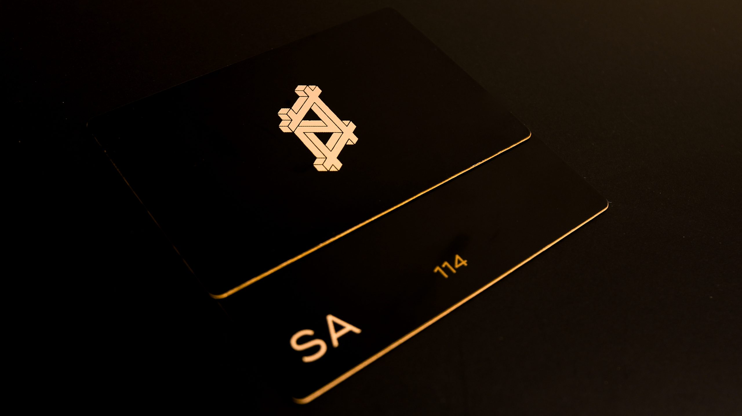 Outernet - Metal business Cards