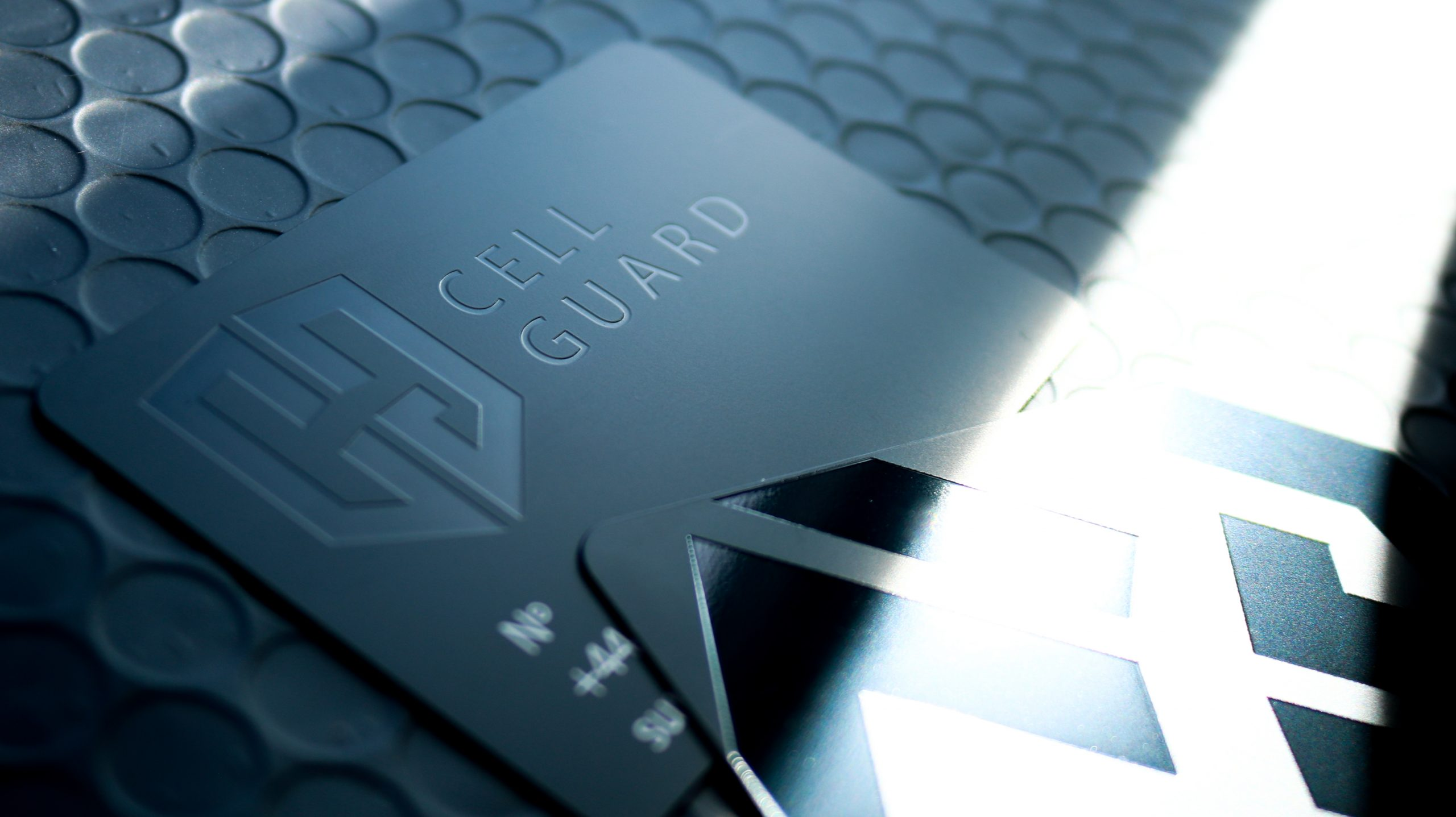 Cell Guard - Metal Business Cards