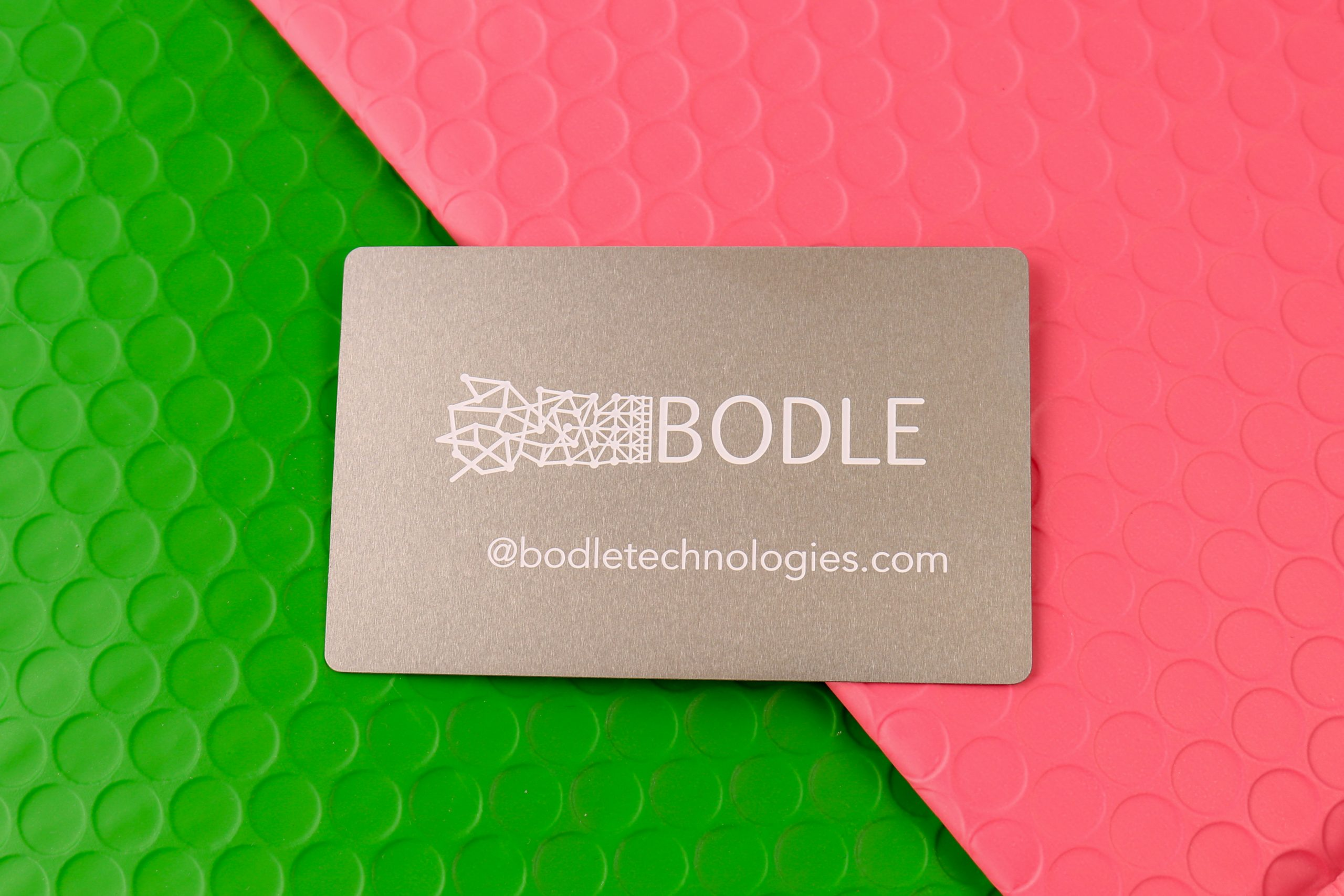 Bodle Technologies - Metal Business Cards
