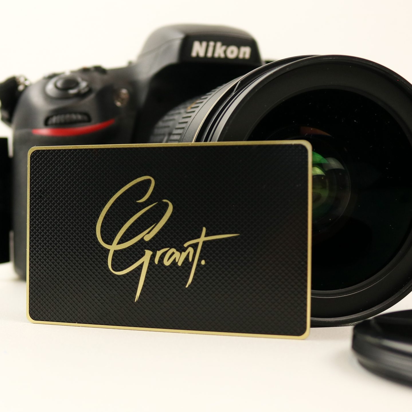 Connor Grant - Metal Business Card