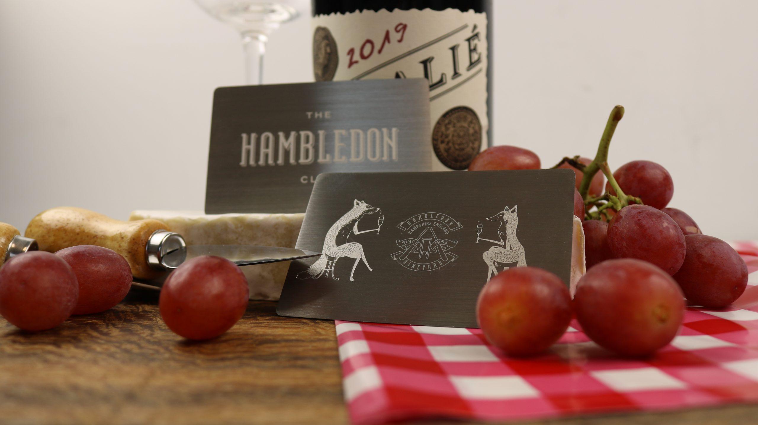 Hambledon Vineyard - Metal Cards