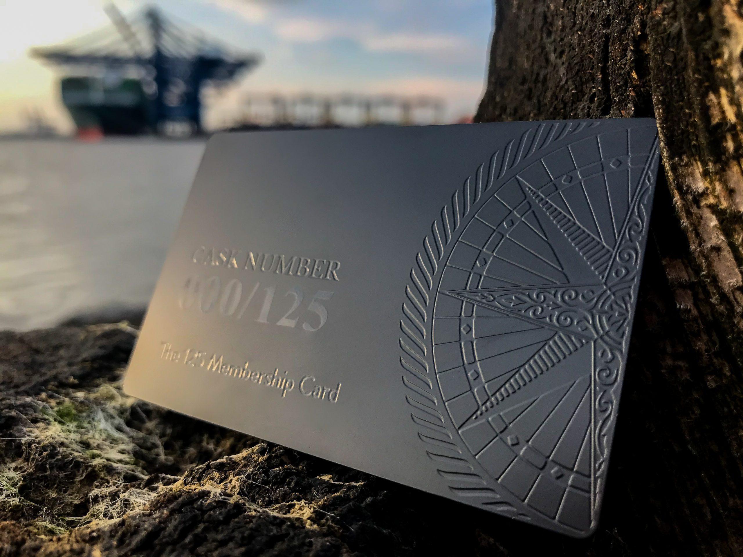 Copeland Distillery - Metal Membership Card
